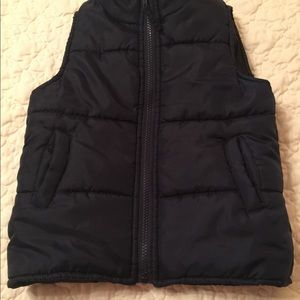 Little Boys Navy Insulated Vest